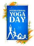 International Yoga Day Stock Photography