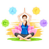International Yoga Day Royalty Free Stock Image