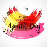 International Youth Day. Stock Photography