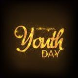 International Youth Day. Royalty Free Stock Photo