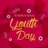 International Youth Day. Stock Photos