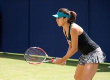 International Zhang Shuais im Jahre 2014 Aegon (Eastbourne-Tennis Turnier) Stockfotografie