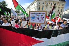 Internationale al-Quds Dag 2015-Wenen Royalty-vrije Stock Foto