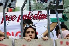 Internationale al-Quds Dag 2015-Wenen Royalty-vrije Stock Foto's