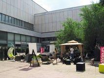 19. internationale Ausstellung der Architektur und des Designs Stockbild
