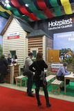 Internationale Ausstellung MosBuild 2011 Stockbilder