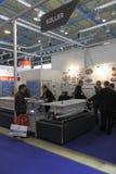 Internationale Ausstellung MosBuild 2011 Lizenzfreies Stockfoto