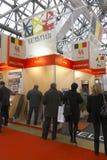 Internationale Ausstellung MosBuild 2011 Lizenzfreie Stockfotos