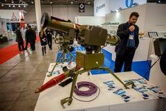 13. internationale Ausstellung von Bewaffnungen Waffen und von Sicherheit 2016 Lizenzfreie Stockbilder