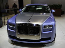 Rolls-Royce demonstreerde in New York Auto toont Stock Fotografie