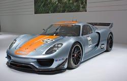 Internationale Autoausstellung Genf-81. Stockbilder
