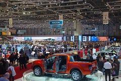 Internationale Autoausstellung Genf-81. Lizenzfreies Stockfoto