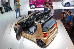 Internationale Automobil Ausstellung. FRANKFURT - SEP 17: Smart Brabus taillor made by WeSC car shown at the 64th Internationale Automobil Ausstellung (IAA) on Royalty Free Stock Photography