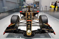 Internationale Automobil Ausstellung. FRANKFURT - SEP 17: Lotus Renault GP F1 R31 2011 Sport car shown at the 64th Internationale Automobil Ausstellung (IAA) on Royalty Free Stock Photo