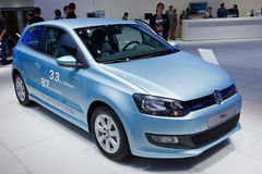 Internationale Automobil Ausstellung. FRANKFURT - SEP 17: Volkswagen Polo car shown at the 64th Internationale Automobil Ausstellung (IAA) on September 17, 2011 Royalty Free Stock Photo