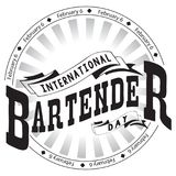 Internationale Barmannendag Stock Afbeelding
