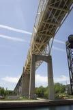 Internationale Brücke stockbilder