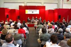 Internationale Buch-Messe (Salone Del Libro) Turin Stockfotografie