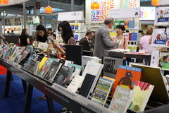 20. internationale Buchmesse Pekings Stockbilder