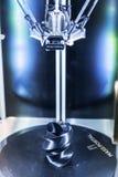 Internationale Conferentie en Tentoonstelling van 3D druk en scann Royalty-vrije Stock Foto