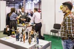 Internationale Conferentie en Tentoonstelling van 3D druk scann Royalty-vrije Stock Foto