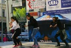Internationale Dag van Dans in frydek-Mistek Royalty-vrije Stock Afbeelding