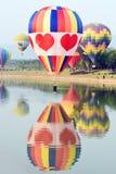 Internationale de Ballonfiesta van het Singhapark, Thailand Stock Afbeeldingen