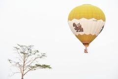 Internationale de Ballonfiesta van het Singhapark, Thailand Stock Foto's