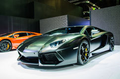 Internationale de Motorshow 2015 van Bangkok Stock Foto's