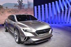 Internationale de Motorshow 2018 van 88ste Genève - het concept van Subaru Viziv Tourer stock fotografie
