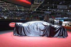 Internationale de Motorshow 2018 van 88ste Genève - de Sport van Bugatti Chiron stock afbeelding