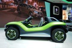 Internationale de Motorshow van 89ste Genève - Volkswagen-het conceptenauto Met fouten van identiteitskaart royalty-vrije stock fotografie
