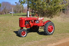 Internationale Farmall Modelb tractor Royalty-vrije Stock Foto