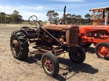 Internationale Farmall-tractor Royalty-vrije Stock Fotografie