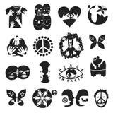Internationale Freundschafts-Symbole Lizenzfreies Stockbild