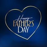 Internationale Gelukkige Vaderdag Aanplakbord, Affiche, Sociale Media, het malplaatje van de Groetkaart royalty-vrije illustratie