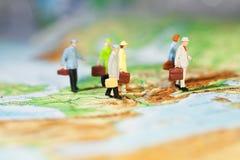 Internationale Geschäfts-Mitarbeit Lizenzfreie Stockfotos