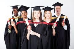 Internationale graduatie Stock Afbeelding