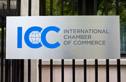 Internationale Handelskammer Stockfotografie