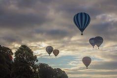 Internationale Heißluft-Ballon-Fiesta in Bristol Lizenzfreie Stockfotos