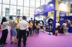 Internationale het merk van derde Shenzhen verlenen van vergunningen en derivatententoonstelling Stock Afbeeldingen