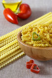 Internationale keuken: liefde voor deegwaren Stock Foto's