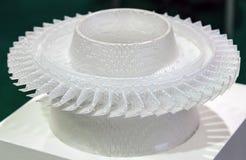 Internationale Konferenz und Ausstellung des Scans 3D-printing Stockfotografie