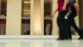 Internationale luchthaven stock videobeelden