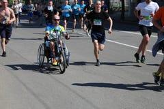 Internationale Marathon van Kharkov 2018 stock foto