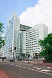 Internationale Strafkammer, Den Haag Stockbild