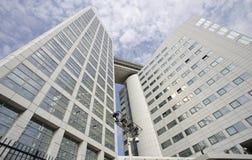 Internationale Strafkammer in Den Haag Lizenzfreie Stockfotos
