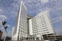 Internationale Strafkammer in Den Haag Stockfotos