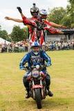 Internationale Stuntruiters Royalty-vrije Stock Fotografie
