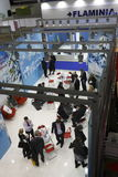 Internationale tentoonstelling MosBuild 2011 Stock Foto